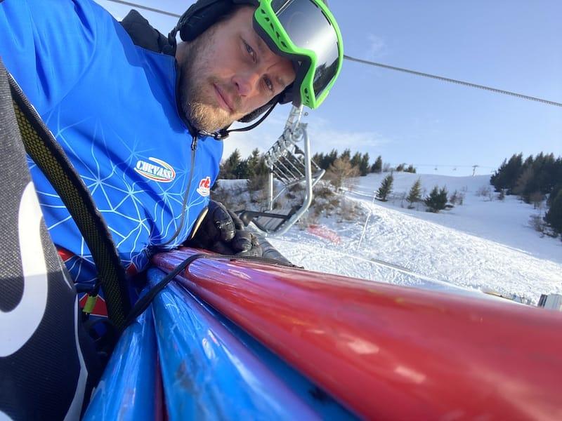 maestro di sci monte bondone
